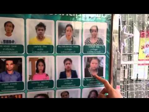 Shoplifters at IT City in Bangkok