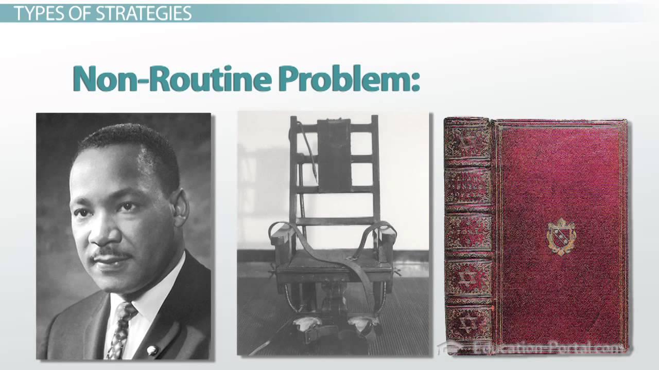 psychology problem solving strategies