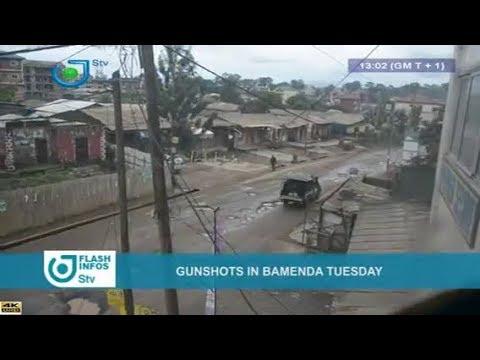 STV - THE 01:00 PM FLASH INFOS - (BAMENDA : GUNSHOTS on TUESDAY) - Wednesday 18th July 2018