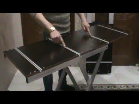 ✅ Верстак трансформер из ламинированной фанеры (обзор)