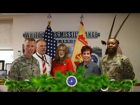 Holiday Greetings from White Sands Missile Range