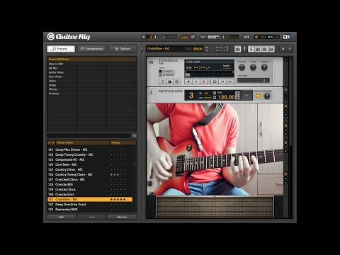Guitar Rig 5.2 Best Effects - Edged Without You