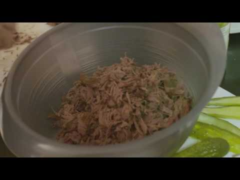 Wild Game Cooking - Pulled Goose Sandwiches