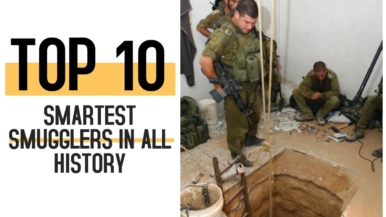 Download Top 10 Smartest Smugglers In All History - Watch To Win