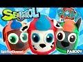 PAW PATROL Nickelodeon Surprise Eggs of Paw Patrol Sea Patrol Marshall at the Sea Patroller