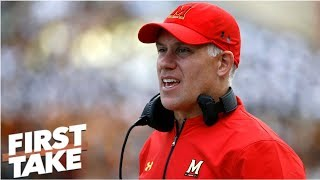 Will Cain: Maryland fired DJ Durkin 'because of public outcry' | First Take