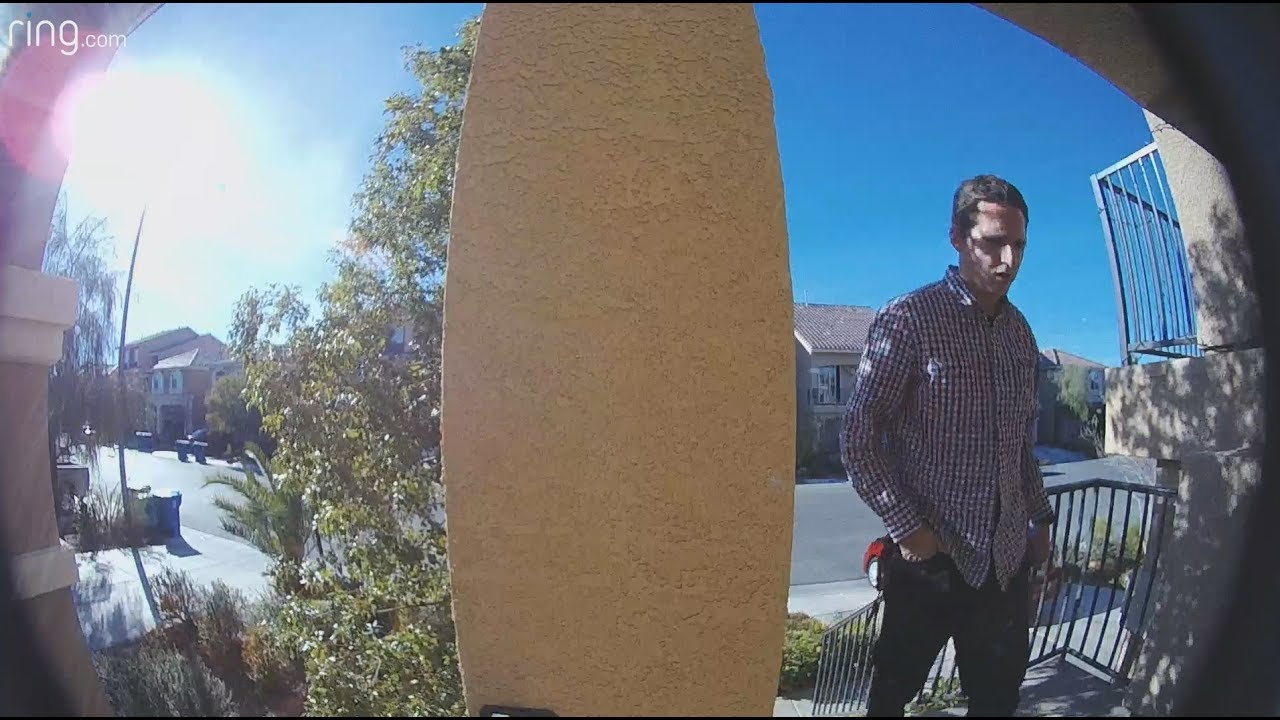 Ring Doorbell Pro - Package Thief Caught On Camera