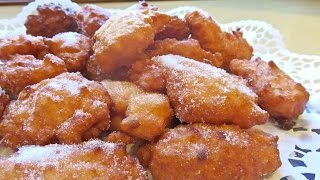 Frittelle di san giuseppe【イタリア伝統菓子動画】聖ヨセフのフリテッレ
