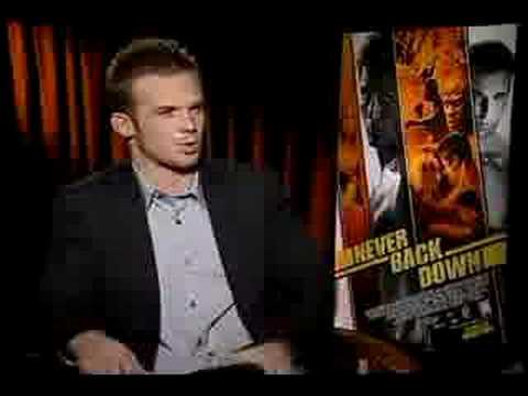 Never Back Down - Interview with Cam Gigandet