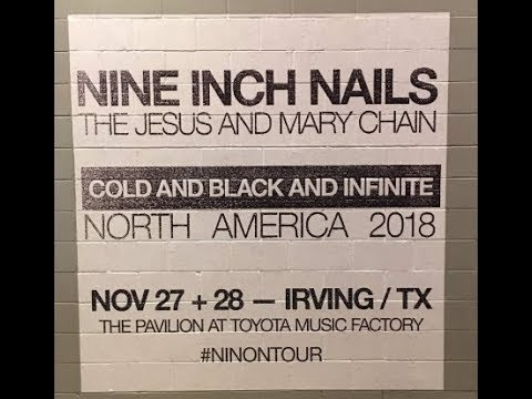 Nine Inch Nails ad dates to 'Cold And Black And Infinite Tour' Bad Witch out June 22!