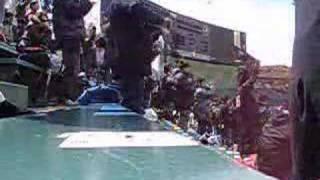 1番ショート西岡 2番セカンドオーティズ 3番ライト大松 4番レフト竹...