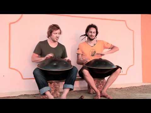 The Hang Drum Project -  James & Daniel in Arambol.