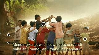 "Lagu anak Sunda "" Oray - orayan "" - Indonesian Traditional Song"