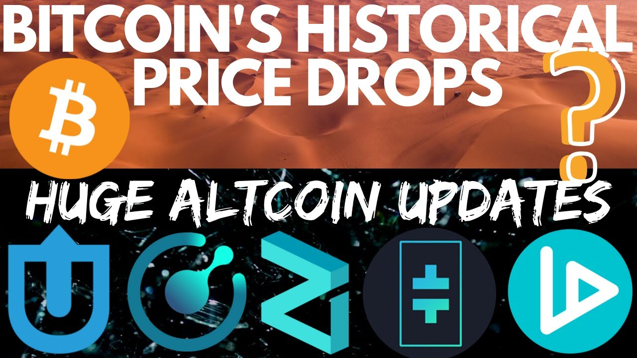 Bitcoin's Historical Price Collapse | Zilliqa | Komodo | V-ID | Theta | Uptrennd | bitcoin news