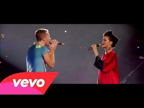 Rihanna ft. Coldplay ~ Princess Of China (Live Stade de France 2012)