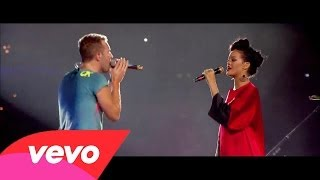 Rihanna ft. Coldplay ~ Princess Of China (Live Stade de France 2012)
