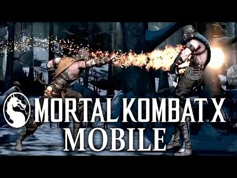 Mortal Kombat X: Mobile - Gameplay! Fatality, Xray! Android, IPhone, IPad - Mobile  Fighting Games!