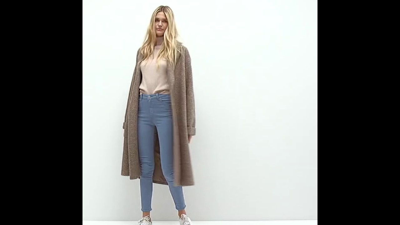 8039af2fb81c ASOS Oversized Knitted Coat in Wool Blend With Shawl Collar - YouTube