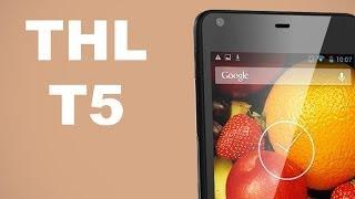 Видео обзор смартфона THL T5(Представляем вашему вниманию на русском языке видео обзор на китайский 4,7