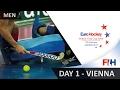 EuroHockey Indoor Club Cup 2017 Men - Day 1 - Vienna, Austria