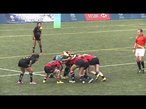 U20 Day2 - Women's 3rd/4th HK v THA