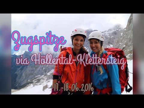 Zugspitze via Höllental Juni 2016 I Seven European Summits (Via Ferrata - Klettersteig)