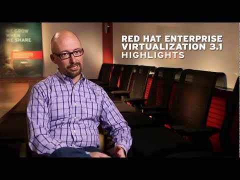 Red Hat Enterprise Virtualization 3.1 Highlights