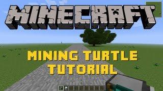 Minecraft | Mining Turtle Tutorial | Feed the Beast