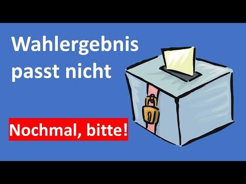 KLARTEXT - Wehe, wenn Wahlen nicht mehr zählen!