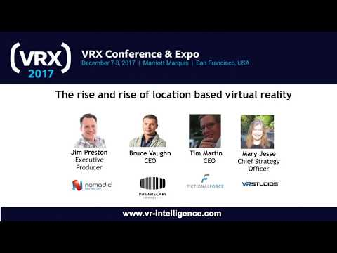 The rise and rise of location based virtual reality
