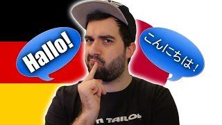 SPEAKING GERMAN VS. SPEAKING JAPANESE!   Comparing Languages   VlogDave