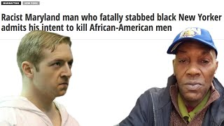 White Man Looking For Black Man To Kill (No Reason)
