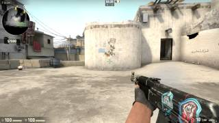 csgo ak 47 redline battle scarred show case