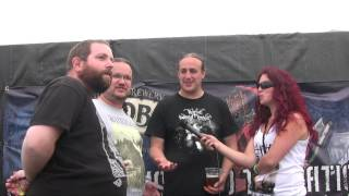 Old Corpse Road interview @ Bloodstock Festival 2014