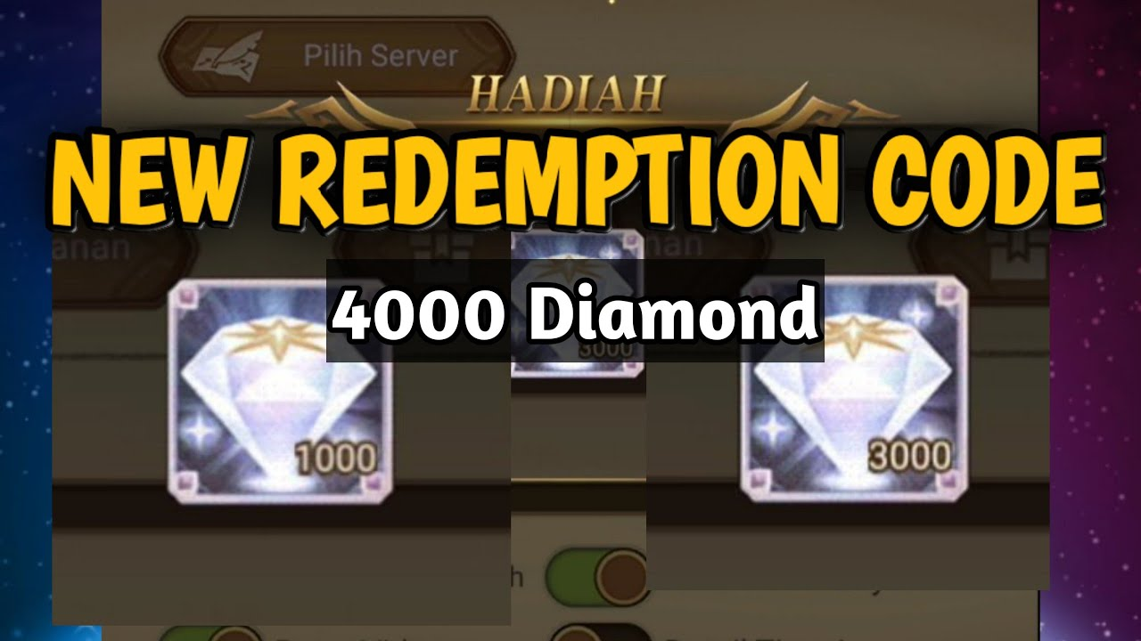 AFK Arena, New Redemption Code 4k Diamond! - YouTube