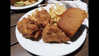 Best Vegan Fried Chicken I have ever had [Seitan] Veganation - San Jose, CA.