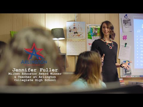 The American Dream Story of Arlington Collegiate High School Teacher Jennifer Fuller