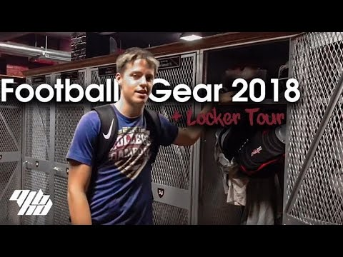 Football Gear 2018 + Locker Tour