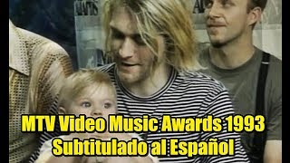 Nirvana (Entrevista) MTV Video Music Awards 1993 - Subtitulado al Español