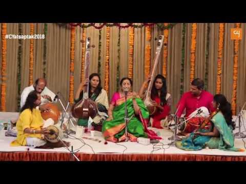 Padma Shri Mrs Aruna Sairam Interview at Saptak 2018 | www.creativeyatra.com