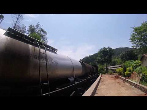 Train Entering Ella Station in Sri Lanka - ESL British English Pronunciation