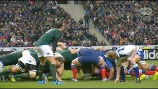 2nd half France vs South Africa Rugby Football Union 23 11 2013