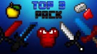 Minecraft : Top 3 En İyi PvP Texture Pack ( Ultra FPS ) # Bölüm 5 #