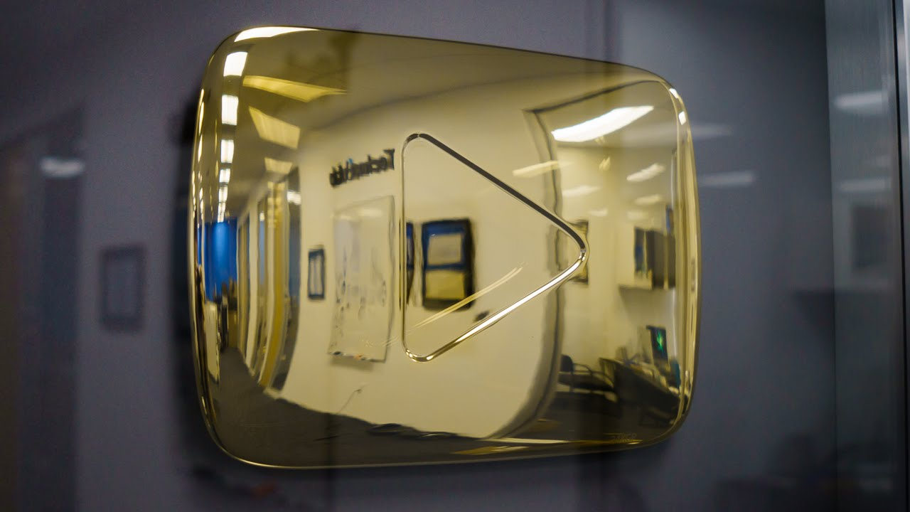 Gold button Youtube: what is it and how to get it