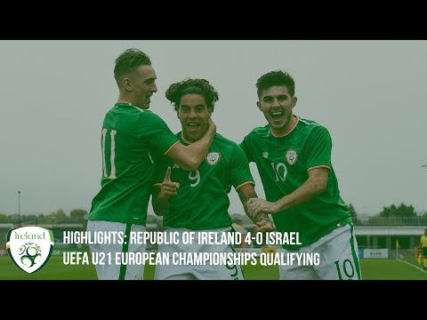 U21 HIGHLIGHTS | Republic of Ireland 4-0 Israel