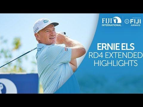 Ernie Els Round 4 Extended Highlights - 2018 Fiji International presented by Fiji Airways