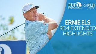 Ernie Els Round 4 Extended Highlights - 2018 Fiji ...