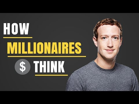 How to Develop A Millionaire Mindset | How to Think Like A Millionaire | How to be Successful