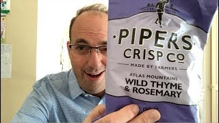 Pipers Crisp Wild Thyme and Rosmary Potato Crisps