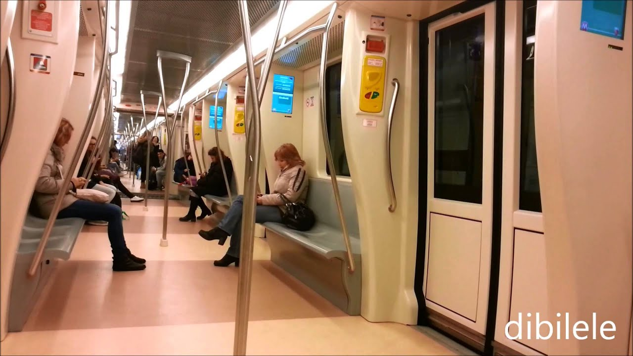 Metro c giardinetti metropolitana di roma youtube for Interno 5 b b roma